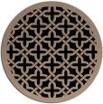 rug #123733   round art deco rug
