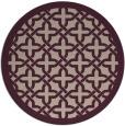 rug #123881   round art deco rug
