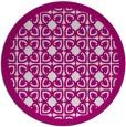 rug #127341   round art deco rug