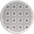 rug #127425 | round art deco rug