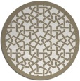 rug #130761   round art deco rug