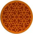 rug #134537 | round art deco rug