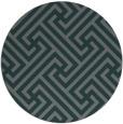 rug #171369 | round art deco rug