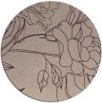 rug #178437 | round art deco rug
