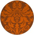 rug #194385   round art deco rug
