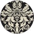 rug #194429   round art deco rug