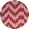 rug #210817   round art deco rug