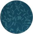 rug #214169 | round art deco rug