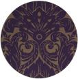 rug #240753 | round art deco rug