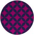 rug #252869   round art deco rug