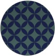 rug #252873 | round art deco rug