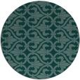 rug #277549   round art deco rug