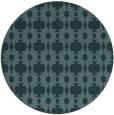 rug #291633 | round art deco rug