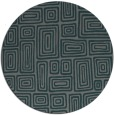 rug #293449 | round art deco rug