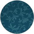 rug #303929 | round art deco rug