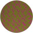 rug #323569 | round art deco rug