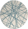 rug #333825 | round art deco rug
