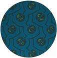 rug #340921 | round art deco rug