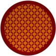 rug #351589   round art deco rug