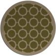 rug #358561 | round art deco rug