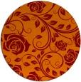 rug #390309 | round art deco rug