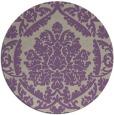 rug #421981 | round art deco rug