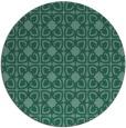 rug #423617 | round art deco rug