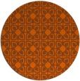 rug #423825   round art deco rug
