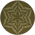 rug #441493 | round art deco rug