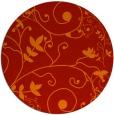 rug #469565 | round art deco rug