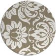 rug #471221 | round art deco rug