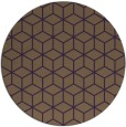 rug #483633 | round art deco rug