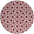 rug #495933 | round art deco rug