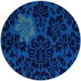 rug #543409 | round art deco rug