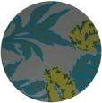 rug #548649 | round art deco rug