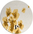 rug #561137 | round art deco rug