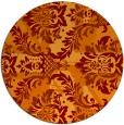 rug #562789 | round art deco rug