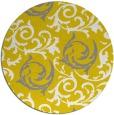 rug #584021   round art deco rug