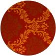 rug #599805 | round art deco rug