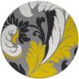 rug #601505 | round art deco rug