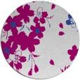 rug #606701 | round art deco rug