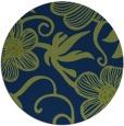 rug #618957 | round art deco rug