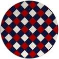 rug #640281 | round art deco rug