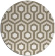 rug #643701 | round art deco rug
