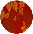 rug #654365 | round art deco rug