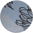rug #657753 | round art deco rug