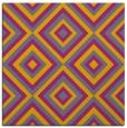 rug #662177 | square contemporary rug
