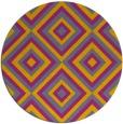rug #663233 | round art deco rug