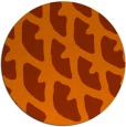 rug #664937 | round art deco rug
