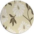 rug #675533 | round art deco rug